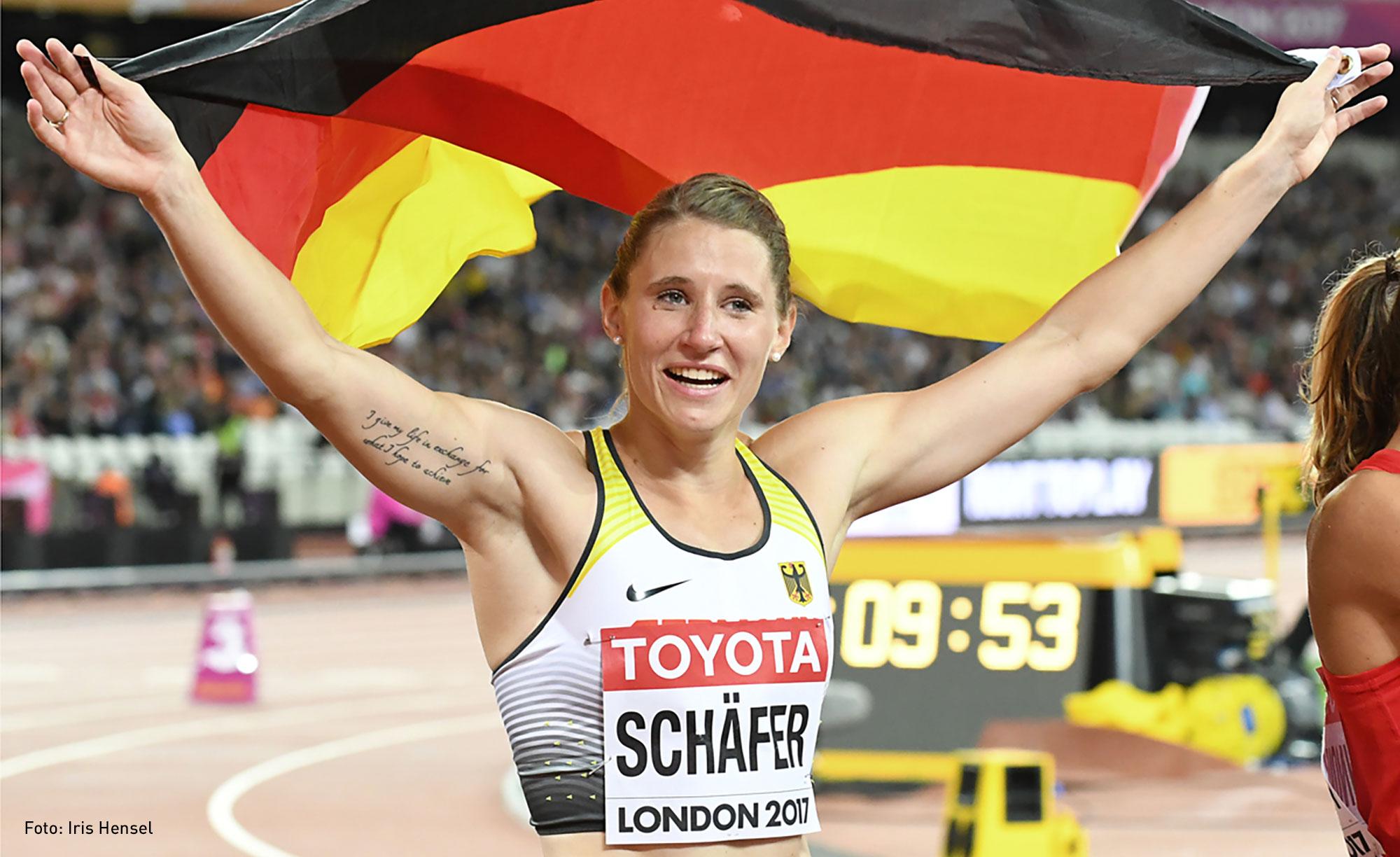 Wir gratulieren Carolin Schäfer zur Vizeweltmeisterschaft!